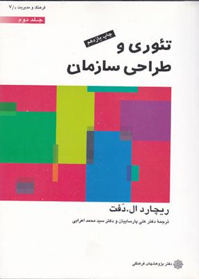 پاورپوینت فصل هشتم کتاب تئوری و طراحی سازمان (جلد دوم) تالیف ریچارد ال دفت ترجمه پارساییان و اعرابی